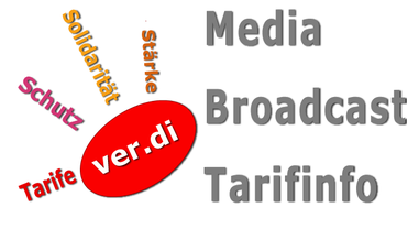 Logo Tarifrunde Media Broadcast 2015