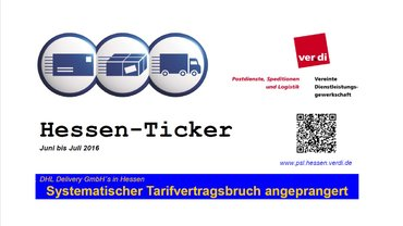 Hessen Ticker Juni und Juli 2016
