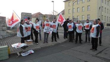 Warnstreik Erfurt