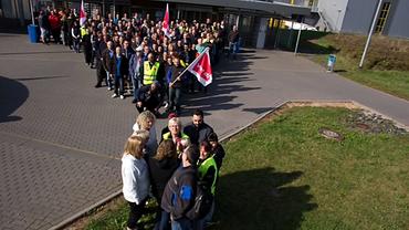 Amazon Streik Bad Hersfeld (21. und 22.09.2016)