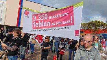 Fehlendes Personal allein im Saarland
