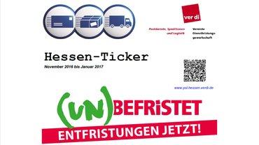 Hessen Ticker 11/16 bis 1/17