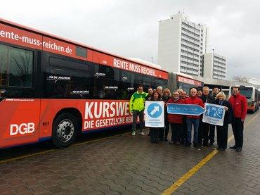 Bus: Die Rente muss reichen!