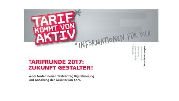 TARIFRUNDE 2017 ZUKUNFT GESTALTEN!