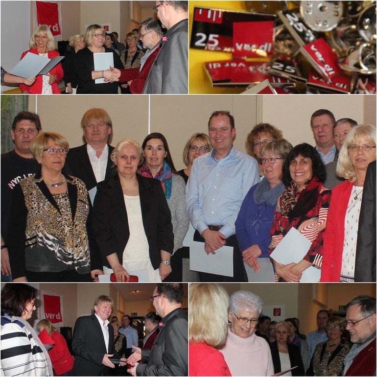 Jubilarehrung Limburg 25 Jahre