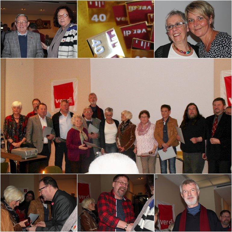 Jubilarehrung Limburg 40 Jahre