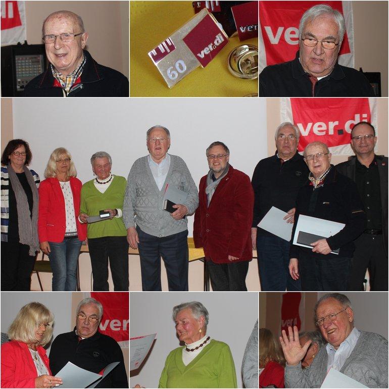 Jubilarehrung Limburg 60 Jahre