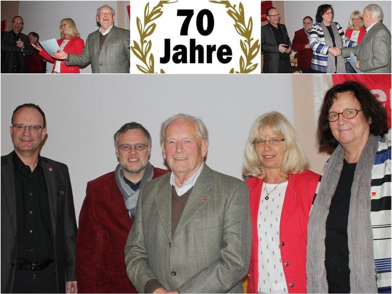 Jubilarehrung Limburg 70 Jahre