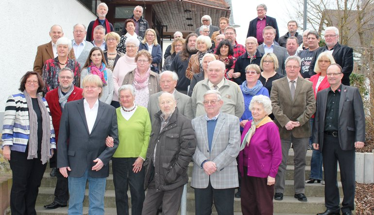 Jubilarehrung Limburg 2016 Gruppenfoto
