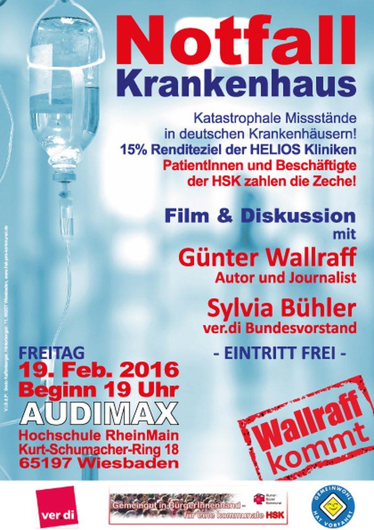 Wallraff kommt nach Wiesbaden