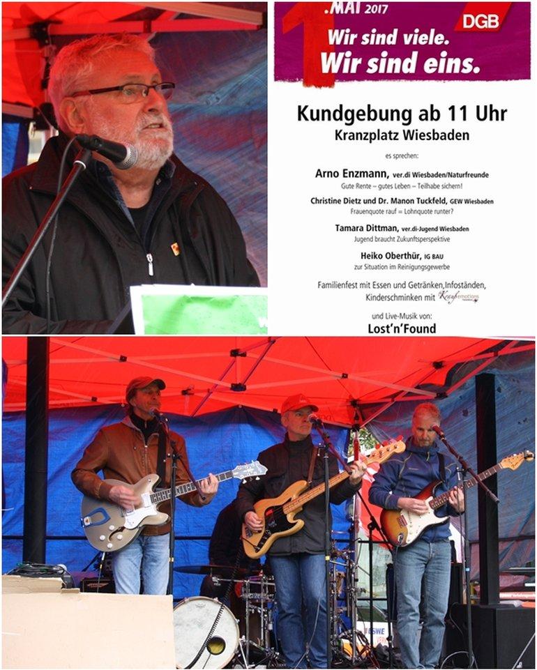 1. Mai 2017 Wiesbaden