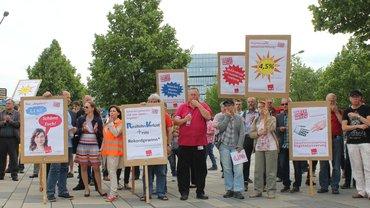 2017-05-24 Streik Versicherungen Wiesbaden