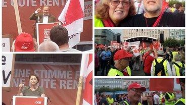 Rente muss reichen: Demo am 25. August in Kassel