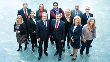 Die Kandidierenden für die Wahl der betrieblichen Arbeitnehmervertretungen bei der Deutschen Bank AG