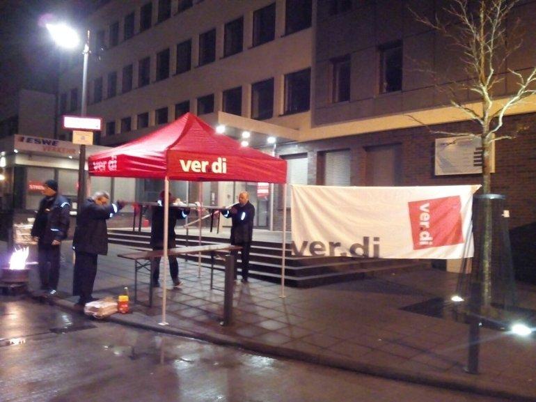 Warnstreik FB Verkehr Wiesbaden