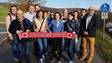 Warnstreiks zur #Troed2018, hier in Nürnberg (11.04.2018)
