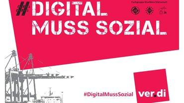 Kampagne der BFG Maritime Wirtschaft zum Thema Digitalisierung und Automatisierung in  der Maritimen Branche mit dem Fokus auf Beschäftigungssicherung für Arbeitnehmer der Branche