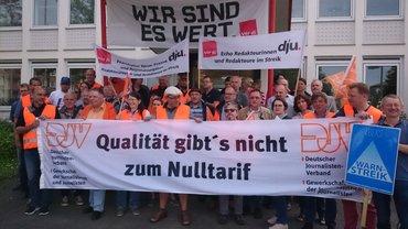 Streikversammlung Redakt. in Darmstadt 24. April 2018
