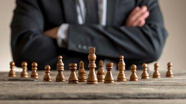 Verhandlung Schach Kampf Mann
