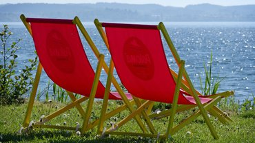 Freizeit Sommer Urlaub Liegestuhl Sonntag