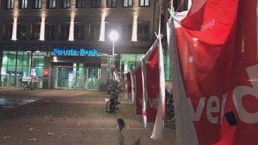 Sparda Banken. Streik in Hannover