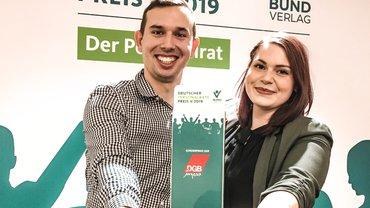 Haupt-JAV Land Berlin mit Personalräte-Preis 2019